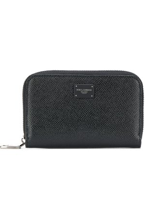 Dolce & Gabbana Logo patch continental wallet