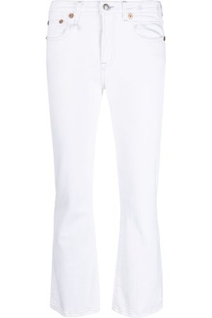 R13 Women Bootcut & Flares - Flared cropped jeans