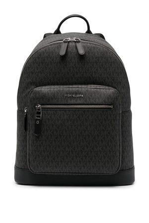 Michael Kors Men Rucksacks - Hudson monogram leather backpack