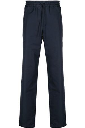 A.P.C. Men Trousers - Drawstring straight-leg trousers