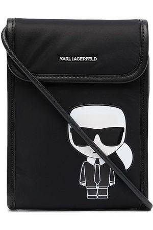 Karl Lagerfeld Women Shoulder Bags - Ikonik logo cross-body bag