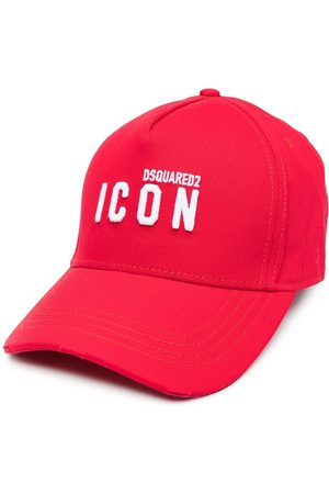 Dsquared2 Men Hats - Icon logo-embroidered cap