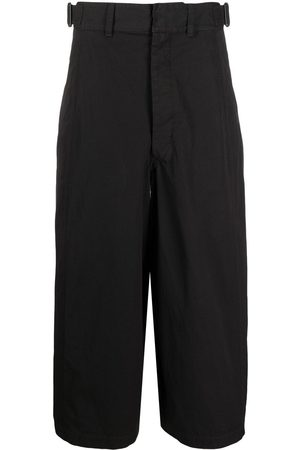 LEMAIRE Wide-leg cropped trousers