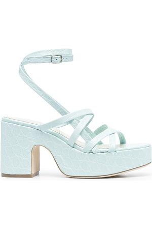 By Far Pamela leather sandals