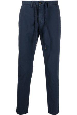 BRIGLIA Men Trousers - Drawstring-waist cotton trousers