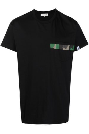 MACKINTOSH Men Short Sleeve - Camouflage stripe detail T-shirt