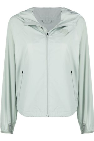 Kenzo Women Jackets - K-Tiger hooded windbreaker
