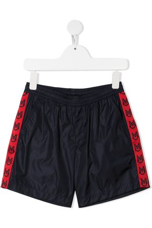Moncler Boys Shorts - Logo-band running shorts