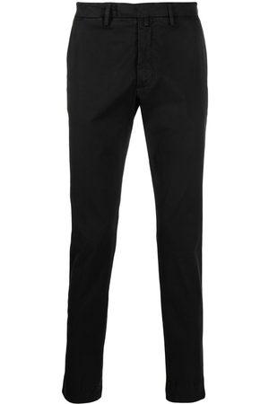 BRIGLIA Cotton chino trousers