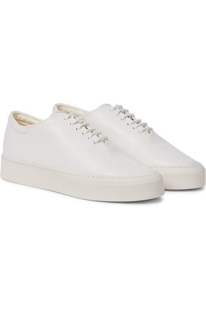 The Row Mary H leather sneakers