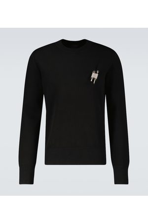 Givenchy Men Jumpers - Love Lock crewneck sweater