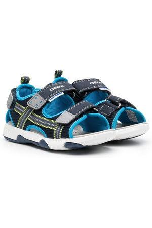 Geox Logo touch-strap sandals