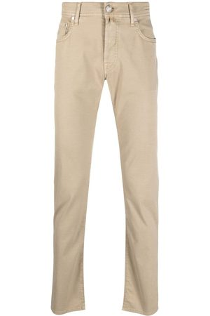 Jacob Cohen Low-rise chinos