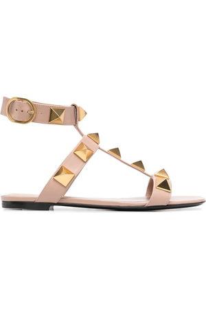 VALENTINO GARAVANI Rockstud-detail open-toe sandals