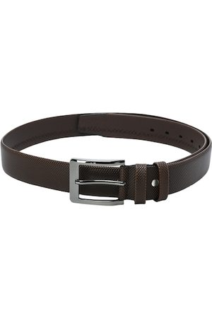 Kastner Men Belts - Men Brown Textured Belt