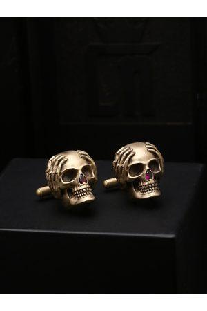 COSA NOSTRAA Copper-Toned Quirky Cufflinks