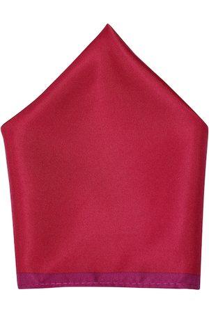 Lino Perros Men Handkerchiefs - Pink Pocket Square