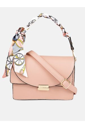 Mast & Harbour Bags - Pink Solid Handheld Bag