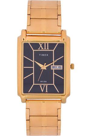 Timex Men Black Analogue Watch TW000W906