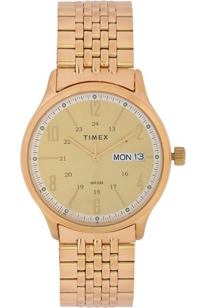 Timex Men Gold-Toned Analogue Watch TW0TG6503