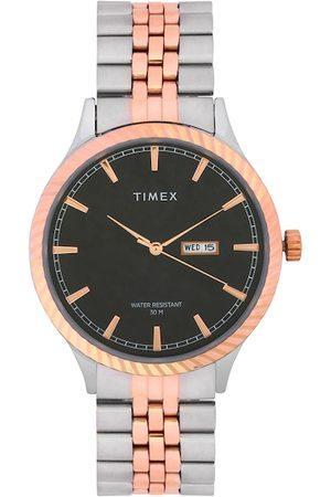 Timex Men Blue & Silver-Toned Analogue Watch TW0TG7502
