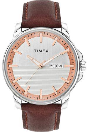 Timex Men Silver-Toned Analogue Watch TWEG17210