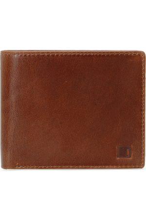 Impulse Men Brown Solid Two Fold Wallet