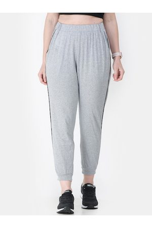 Cation Women Joggers - Women Grey Solid Joggers
