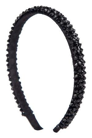 YouBella Black Embellished Hairband