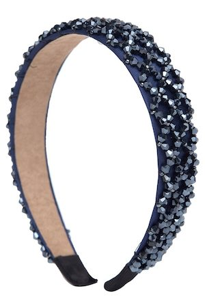 YouBella Hair Accessories - Blue Embellished Hairband
