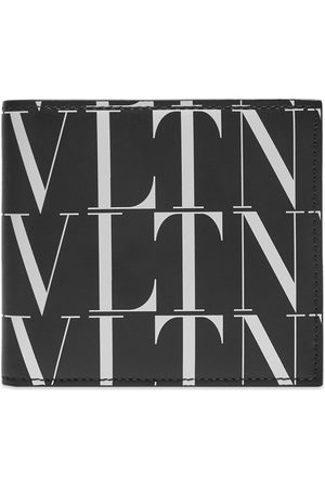 VALENTINO Men Wallets - All Over VLTN Billfold Wallet