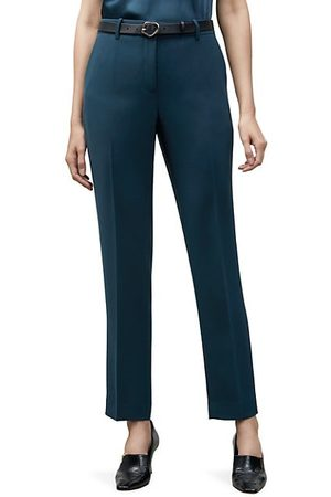 Lafayette 148 New York Women Trousers - Clinton Pleated Ankle Pants