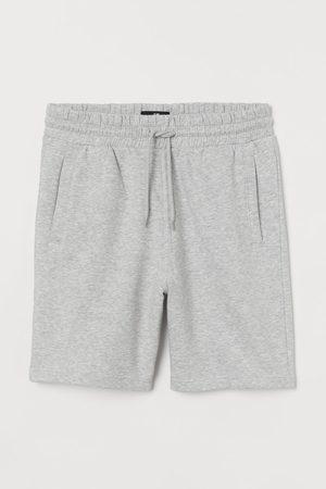 H&M Regular Fit sweatshirt shorts - Grey