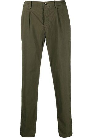 Incotex Elasticated waistband straight trousers