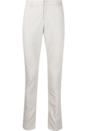 Dondup Tailored cotton pique trousers
