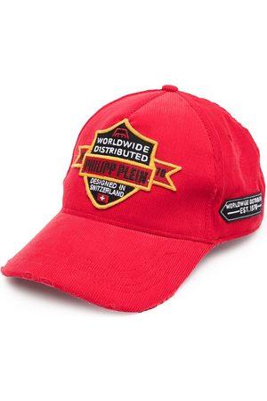 Philipp Plein Men Hats - Logo patches baseball cap