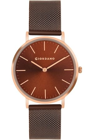 Giordano Men Brown Analogue Watch GD4053-33