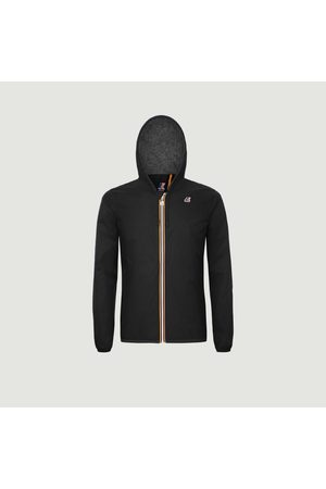 K-Way Jacques zipped hooded jacket pure