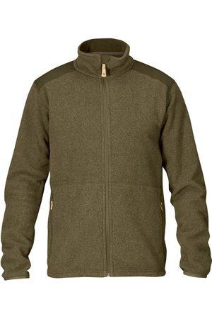 Fjällräven Men Fleece Jackets - Fjallraven Sten Fleece Jacket - Dark Olive Colour: Dark Olive