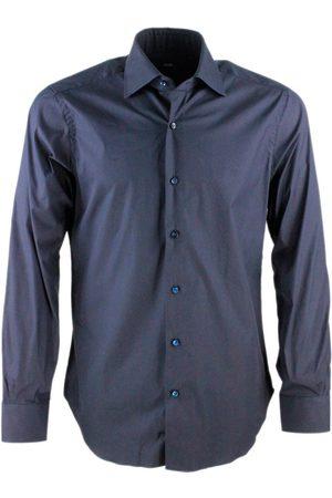 BARBA Men T-shirts - MEN'S I1U47P01PZ2710 COTTON SHIRT