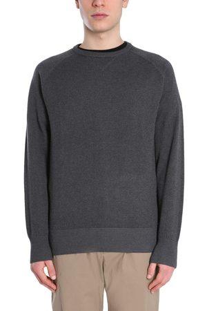 Aspesi Men Sweatshirts - MEN'S M385565301360 GREY OTHER MATERIALS SWEATSHIRT