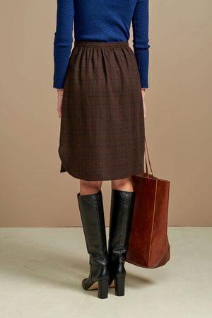 Bellerose Women Skirts - Alabama Curve Bottom Check Skirt