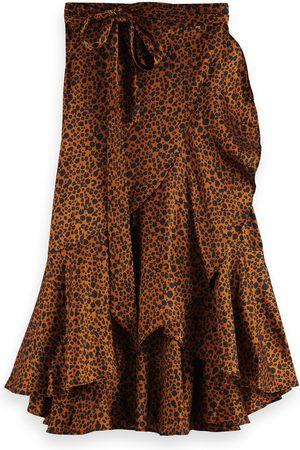 Scotch&Soda Leopard Wrap Skirt