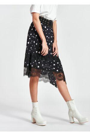 Essentiel Antwerp Zanary Lace Detail Skirt