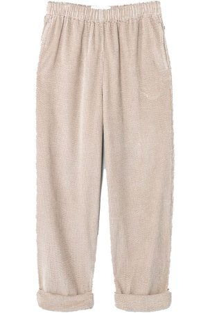 American Vintage Women Trousers - Padow Trousers - Mastic