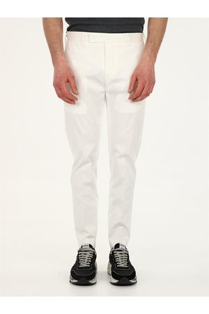 PT01 Men Slim Trousers - Slim fit cotton trousers