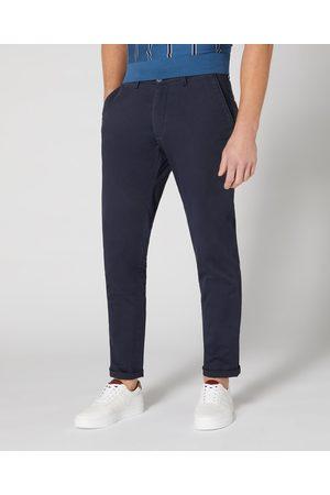 Remus Uomo Emilio Navy Tailored Chino Trousers