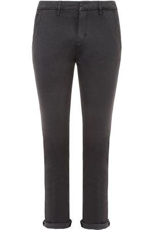 REIKO Women Chinos - Sandy Grey Chino Trousers