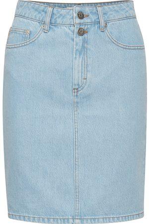 Gestuz Women Denim Skirts - Dacy Skirt Light Vintage