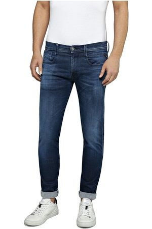 Replay Hyperflex Anbass Slimfit Jean Dark Colour: Dark , Size